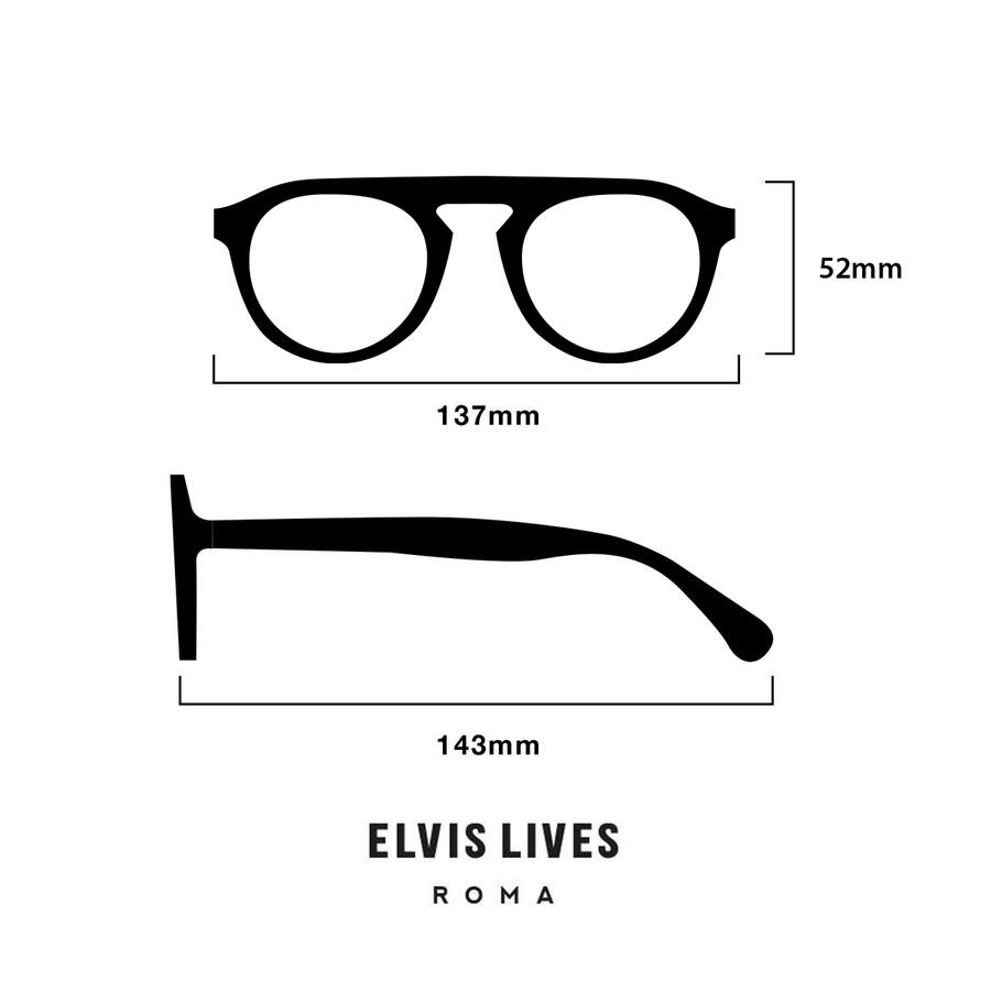 Elvis Lives Sunglasses - Dritto Green