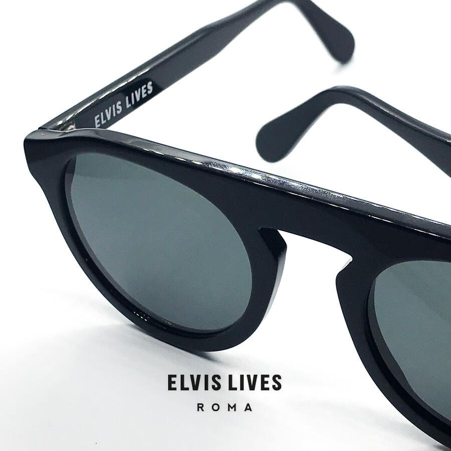 Elvis Lives Sunglasses - Dritto Black