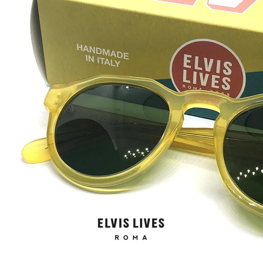 Elvis Lives Sunglasses - Quarto Honey