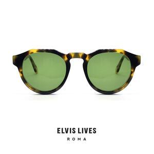 Elvis Lives Sunglasses - Quarto Tortoise