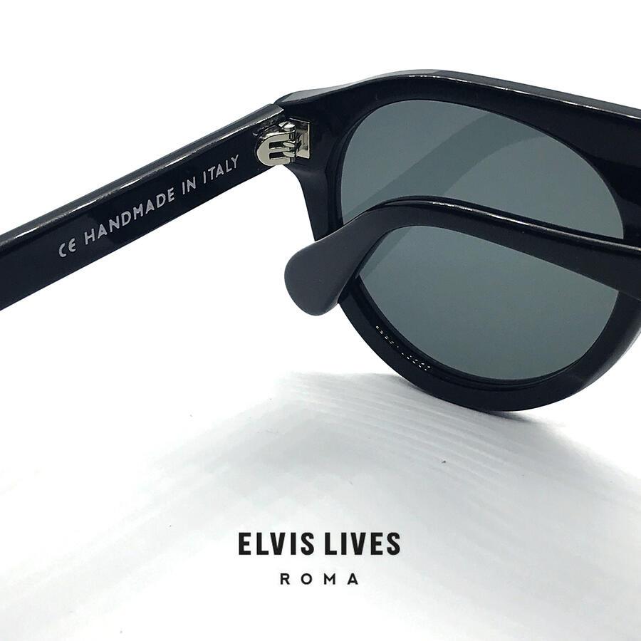Elvis Lives Sunglasses - Quarto Black