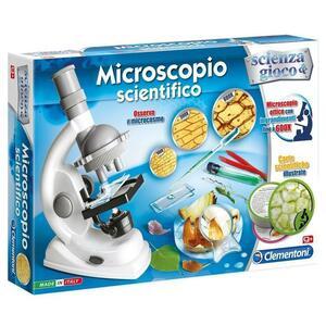 Microscopio scientifico - Clementoni 13966 - 9+