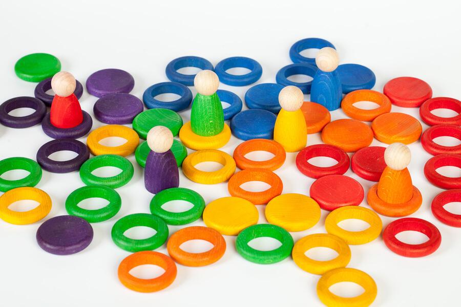 Nins® con anelli e monete