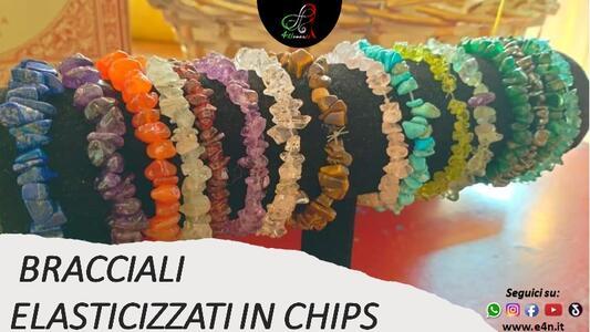 CHIPS - BRACCIALE ELASTICIZZATO 17 CM