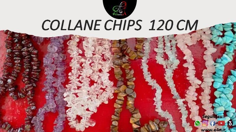 CHIPS - COLLANA LUNGA 120 CM