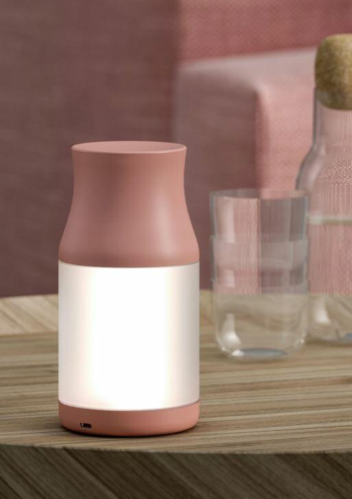 Lampada da Tavolo Ricaricabile TURNY di Fabbian in ABS e PMMA, Varie Finiture - Offerta di Mondo Luce 24