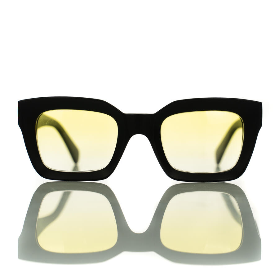 Mabel Black Matte Yellow - Limited Edition