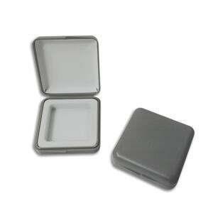 100 Astucci cm. 6 x 6 colore grigio