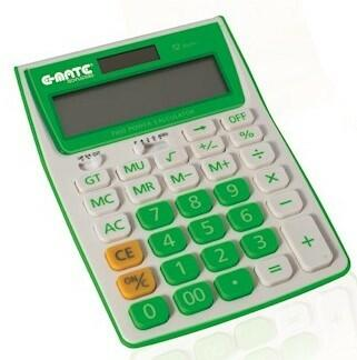CALCOLATRICE DESKTOP CD-2719-12 E-MATE