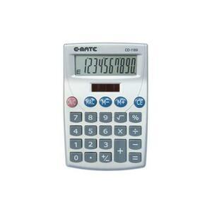 CALCOLATRICE TASCABILE 10 CIFRE CD-1189 E-MATE
