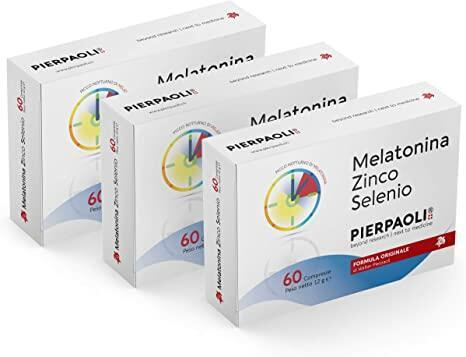 Melatonina Zinco - Selenio Pierpaoli  ►PROMO 3 confezioni da 60 cpr◄