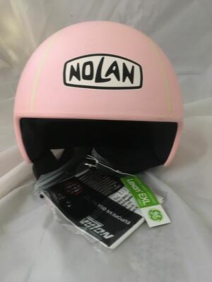 Casco Nolan N30 Pinball Flat Pink Taglia XL