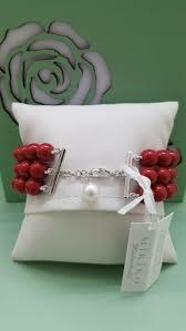 Bracciale Corallo e Perla Mikiko