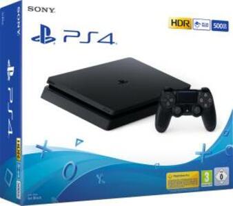 PS4 CONSOLE 500GB F CHASSIS SLIM BLACK