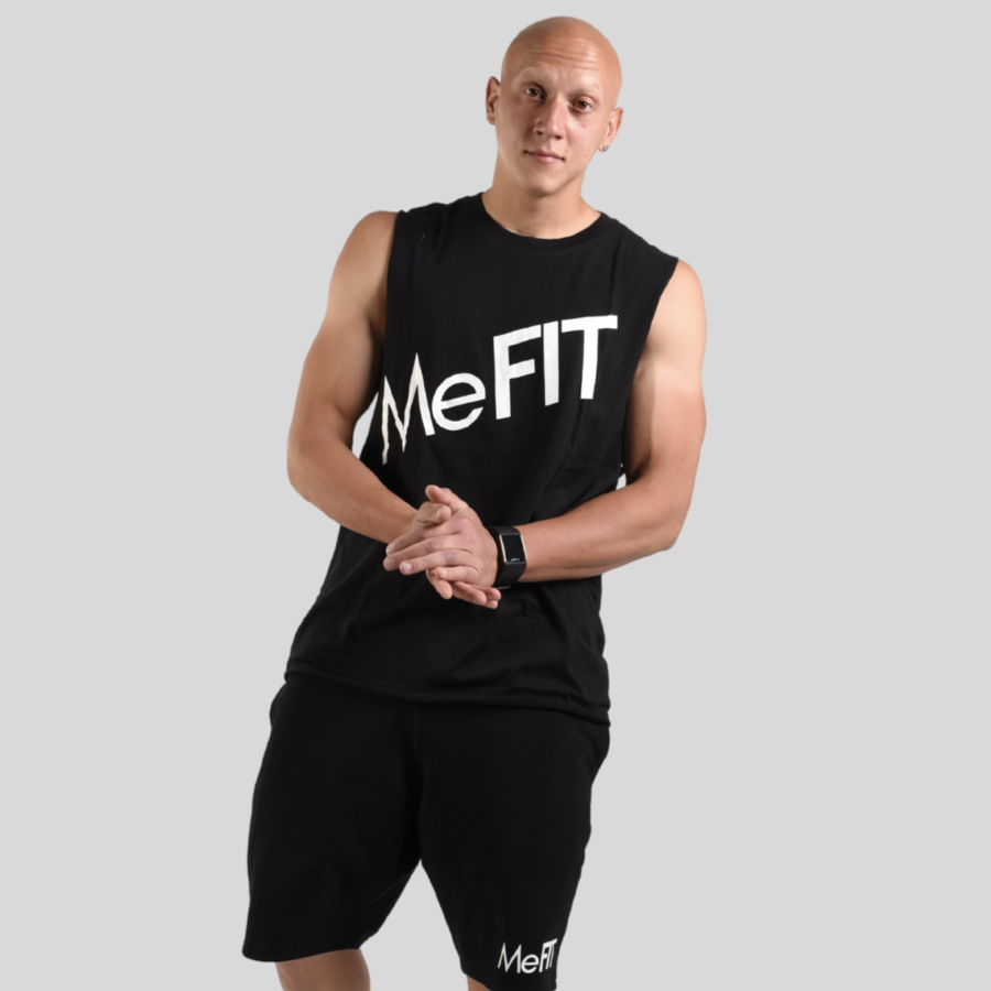 Expose Muscle Tank - Black