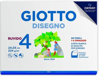 Giotto Album Disegno 4, A4, Carta Ruvida