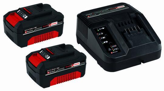 Kit batteria e caricabatteria PXC Starter Kit 2x 3,0Ah & 30min