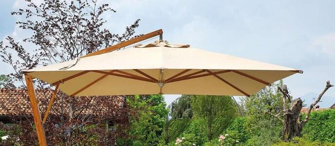 Copertura ombrellone quadrato 3,5 x 3,5 color sabbia COP 5038