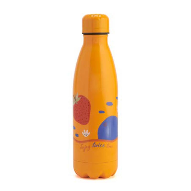 Neavita - Twice Bottiglia thermos arancione