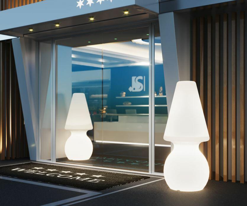 Lampada da Terra per Esterno MY BIG LIGHT al LED in Polietilene di Lyxo Design - Offerta di Mondo Luce 24