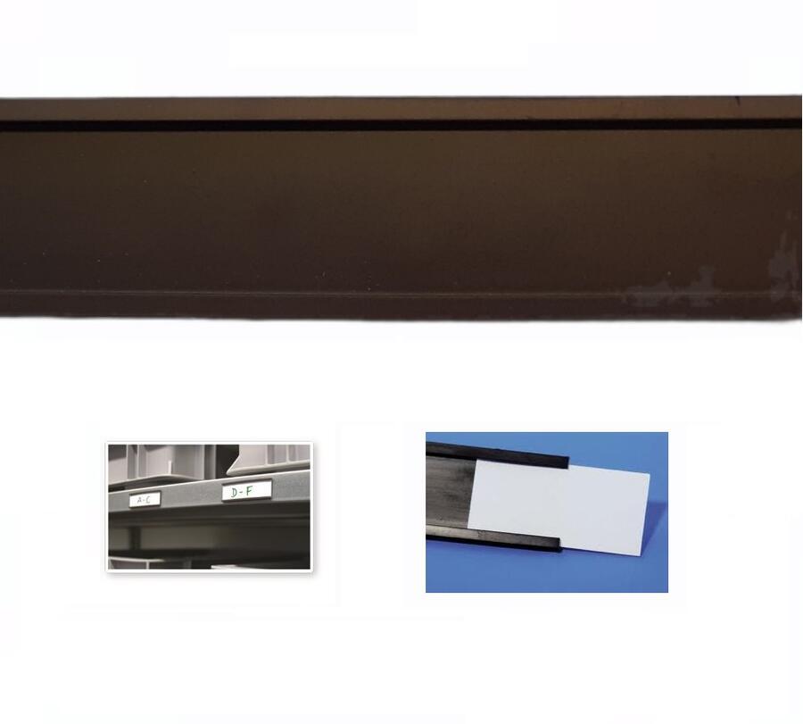 Profilo a C magnetico porta etichette