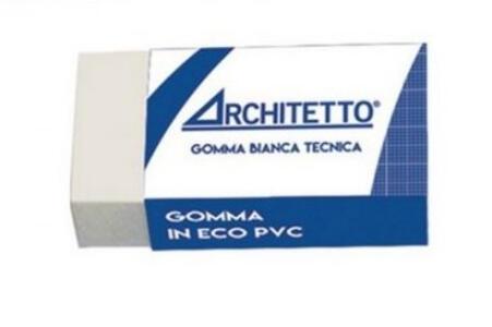 MINI GOMMA BIANCA TECNICA ARCHITETTO