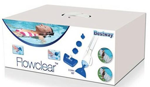 Aspiratore Aquacrawl c/n Tubo 6 mt Bestway