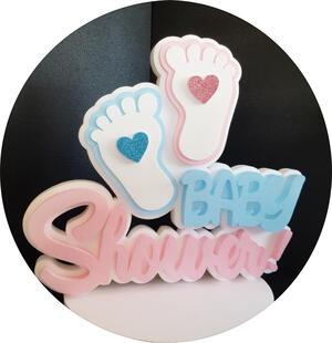 Baby Shower centrotavola polistirolo