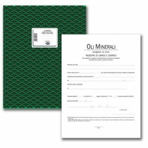 Registro Carico / Scarico Oli minerali assoggettati ad accisa per Depositi e Distributori minori - BUFFETTI 354100100