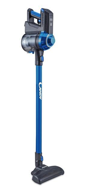 CANDY SCOPA ELETTRICA CAS10RICARICABILE TITANIUM/CAPRI BLUE