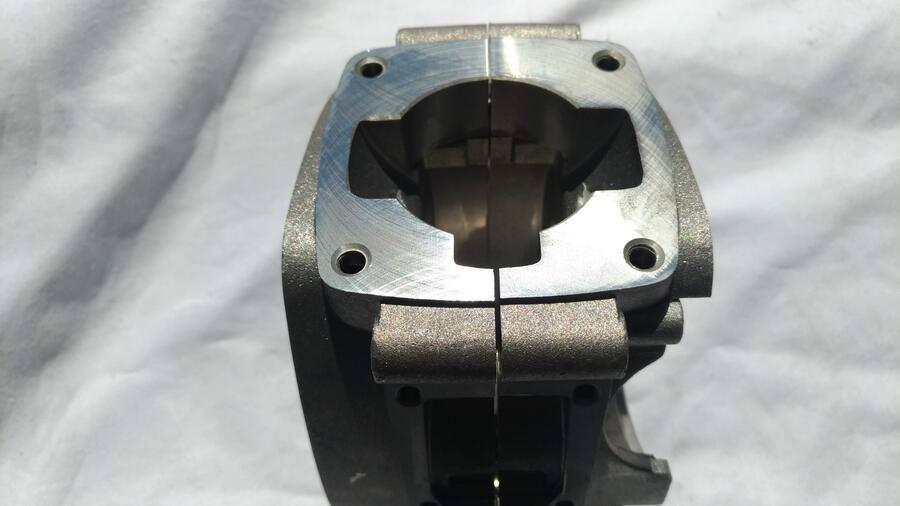 Ricambio Minimoto Polini . Coppia Carter Motore 4,2 Cv