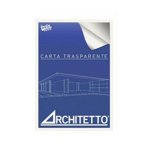 BLOCCHI CARTA TRASPARENTE ARCHITETTO A3