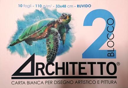 ALBUM DA DISEGNO BLOCCO 2 ARCHITETTO RUVIDO 33x48