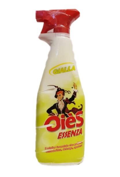 Oies Ole Essenza Gialla Oiès Essenza Detergente Sgrassatore - Profumazione Gialla 750 ml