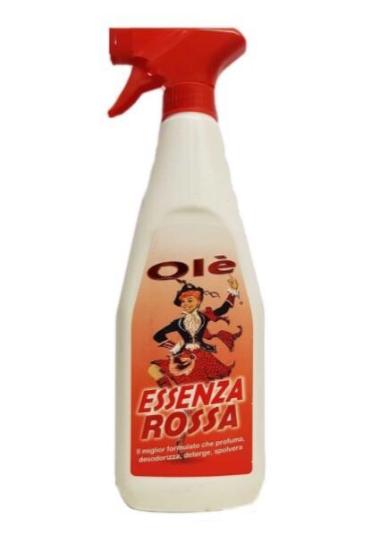 Oies Essenza Rossa Olè Essenza Profumata Sgrassatore - Profumazione Rossa - 1 Falcone da 750 ml