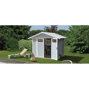Casetta da giardino in PVC UTILITY 5 Grosfillex Dimensioni: 242x202x236h cm
