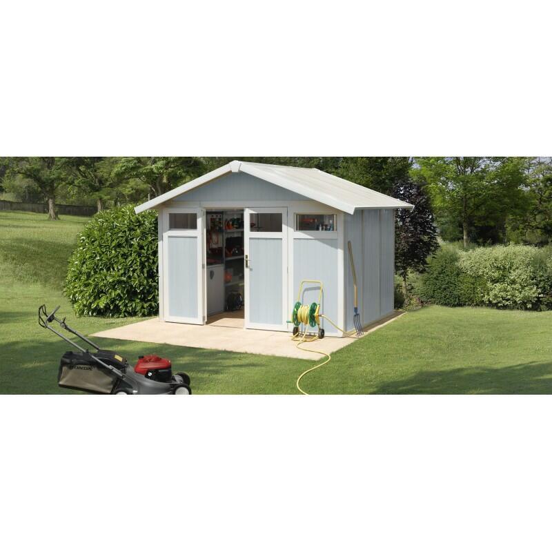 Casetta da giardino in PVC modello UTILITY 7,5 Grosfillex Dimensioni 370x298x250h cm