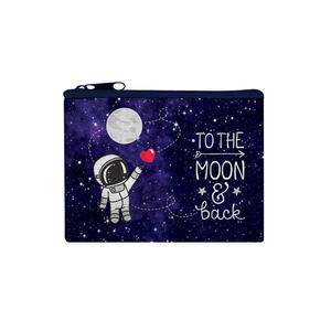 """PORTAMONETE FUNKY COLLECTION """"TO THE MOON & BACK"""" LEGAMI"""