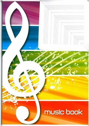 ALBUM MUSICA MUSIC BOOK 100 GRAMMI 16 FOGLI BLASETTI