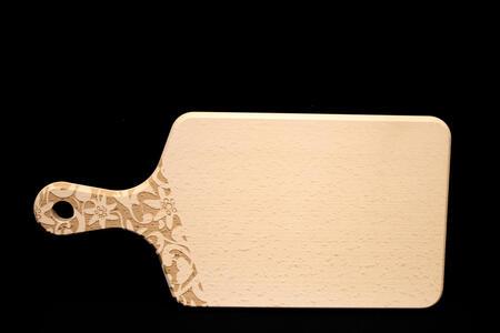 Tagliere in legno di faggio con incisione