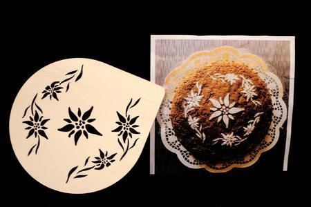 Stampo per decorazioni zucchero a velo su torte