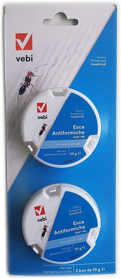 Esca antiformiche in gel pronta all'uso bister 2 pezzi