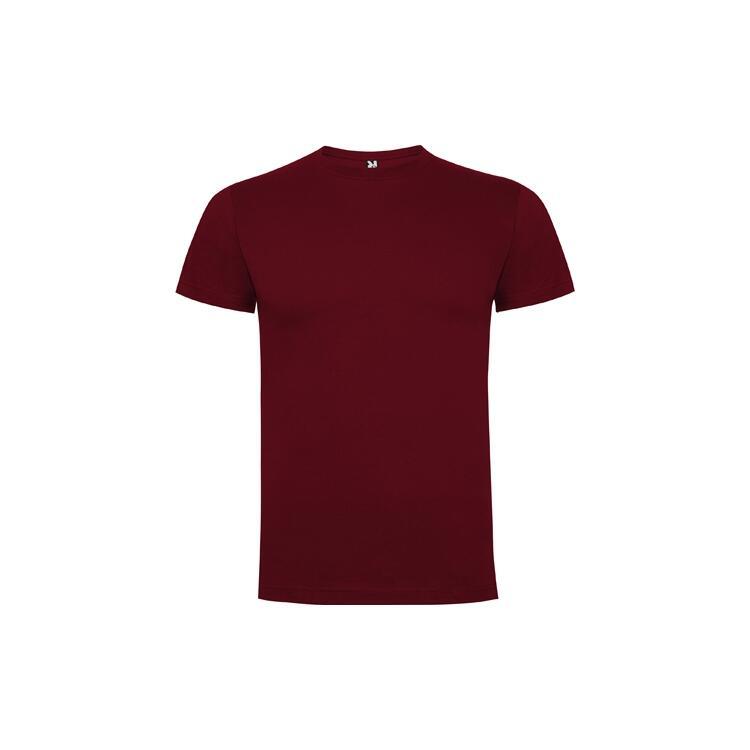 T-shirt granata colore 57 mezza manica
