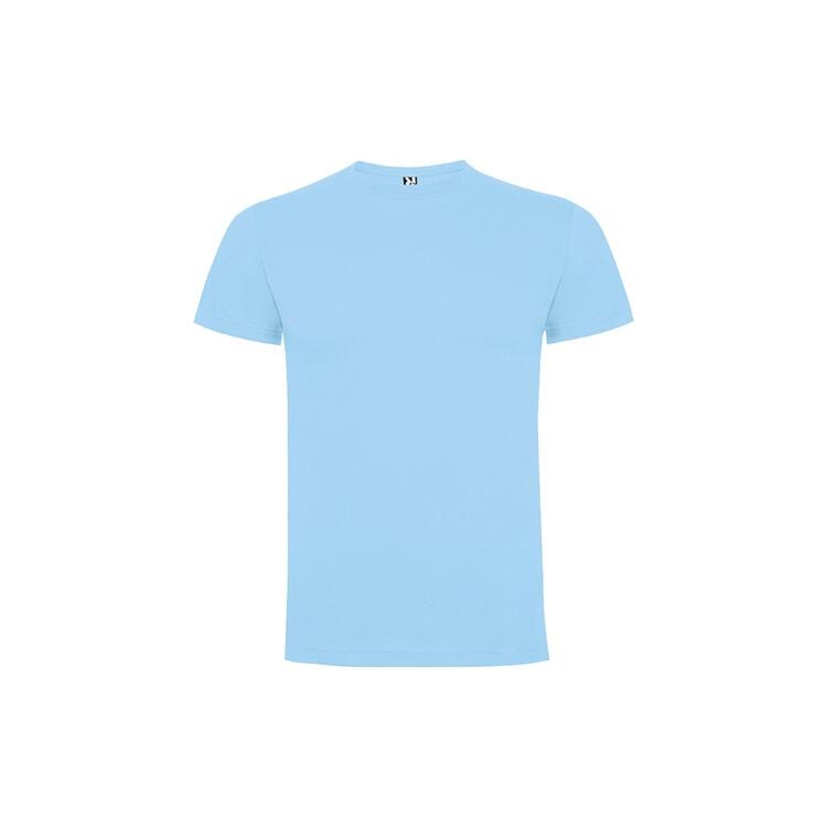 T-shirt celeste colore 10 mezza manica