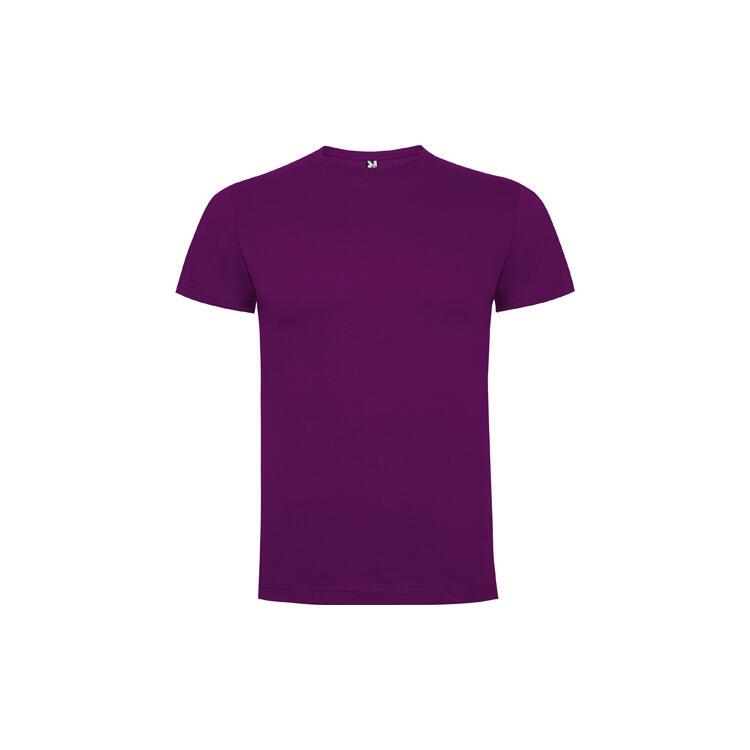 T-shirt porpora colore 71 mezza manica