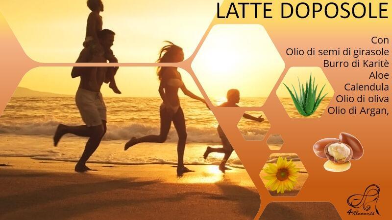 LATTE DOPOSOLE RINFRESCANTE
