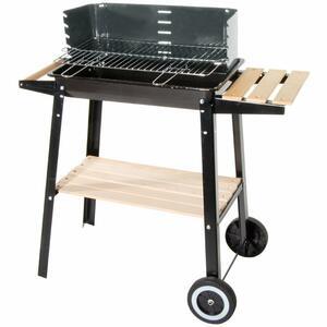 Barbecue con Carrello Ripiano Piccolo Verdelook