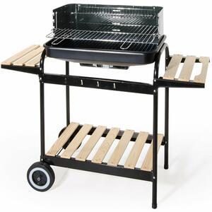 Barbecue con Carrello +  doppio Ripiano Medio Verdelook