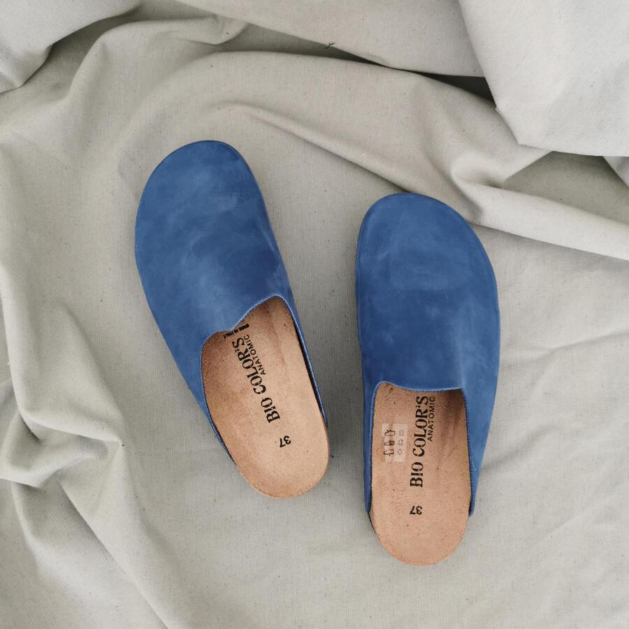 Ciabatta sabot - azzurro