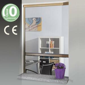 Zanzariera A Rullo Per Finestra 120x170 Colore Marrone Verdelook
